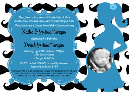 Printable little man mustache baby shower invitations mustache bow mustache02 printable little man mustache baby shower invitation with photo filmwisefo