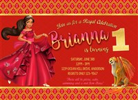 Personalized Elena of Avalor Invitations