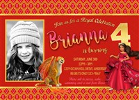 Elena of Avalor Birthday Invitations with photos