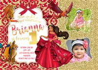 Printable Elena of Avalor Birthday Party Invitations