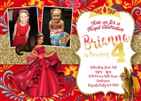 Disney Elena of Avalor Birthday Invitations