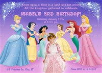 Disney Princess in a Group Birthday Party