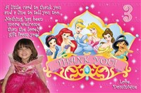 Princess in a Crown Thank You Cards